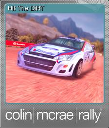Colin McRae Rally Foil 8