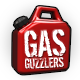 Gas Guzzlers Extreme Badge Foil