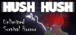 Hush Hush - Unlimited Survival Horror Logo