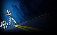 Mighty Switch Force Hyper Drive Edition Background Mighty Switch Force