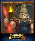 12 Labours of Hercules V Card 3