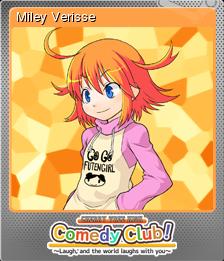Cherry Tree High Comedy Club Foil 1