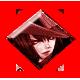 Guilty Gear Isuka Badge Foil