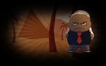 Major Mayhem Background Trusty Leader