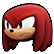 Sonic Forces Emoticon KnucklesEchidna