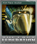The Last Federation Card 01 Foil