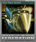 The Last Federation Card 01 Foil