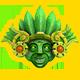 The Treasures of Montezuma 4 Badge Foil