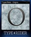 TypeRider Card 1
