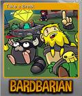 Bardbarian Foil 2