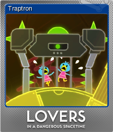 Lovers in a Dangerous Spacetime Foil 2