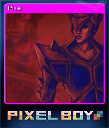 Pixel Boy Card 02