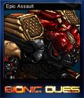 Bionic Dues Card 1