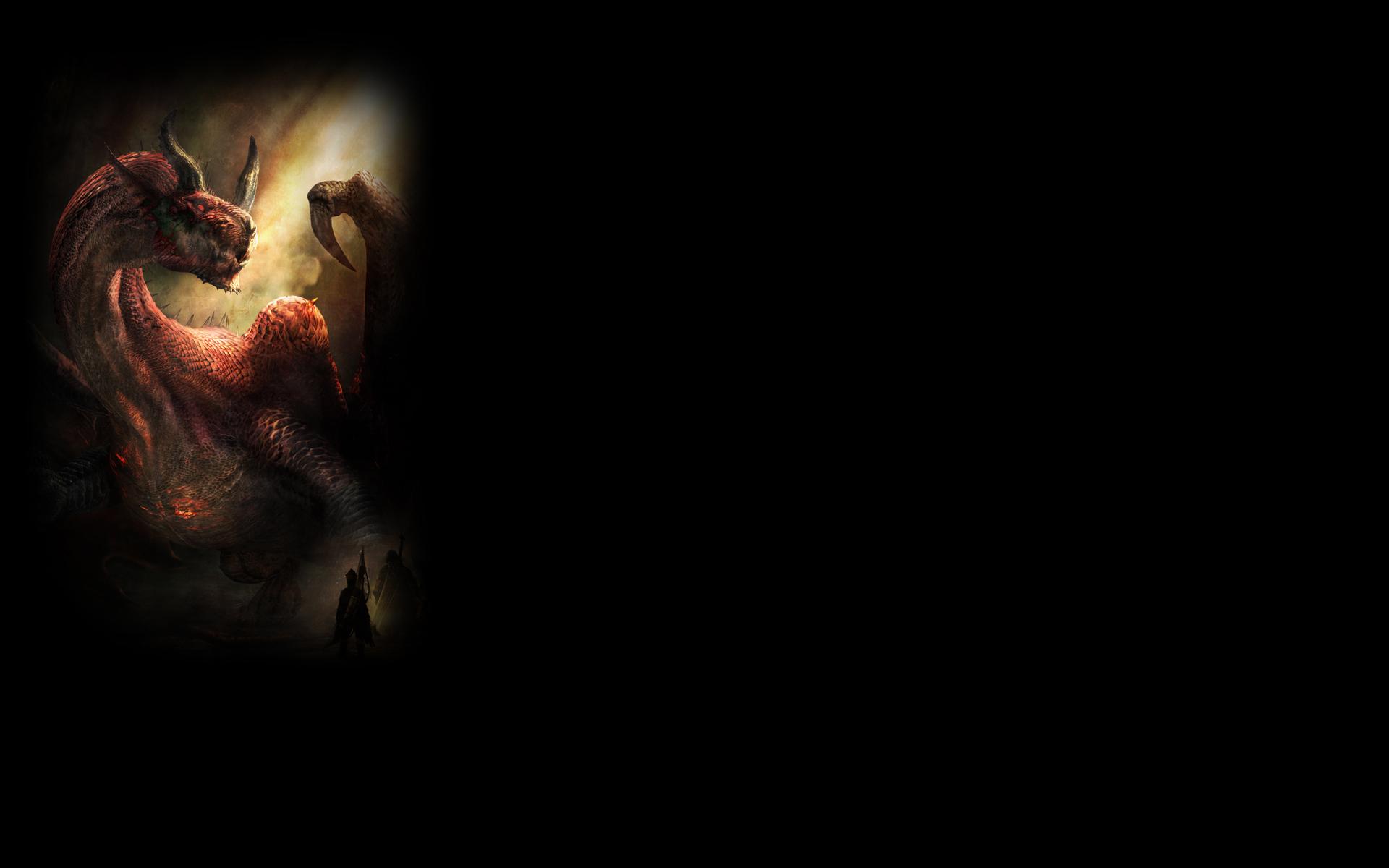 Image - Dragon\'s Dogma Dark Arisen Background Dragon.jpg | Steam ...
