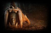 Far Cry Primal Background Skull