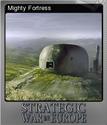 Strategic War in Europe Foil 3
