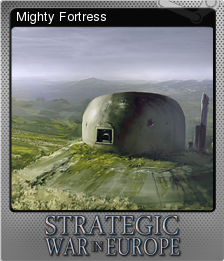 Strategic War in Europe Foil 3