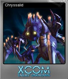 Xcom Enemy Unknown Chryssalid Steam Trading Cards Wiki Fandom