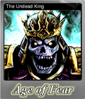 Age of Fear The Undead King Foil 6
