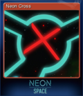 Neon Space Card 4