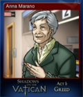 Shadows on the Vatican Act I Greed Card 3