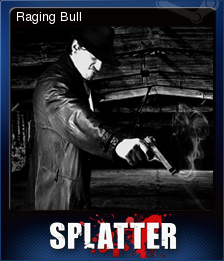 Splatter - Blood Red Edition Card 1