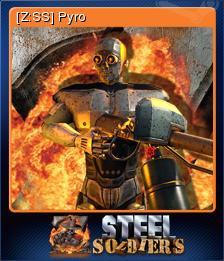 Z Steel Soldiers Card 05