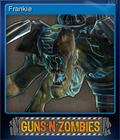 Guns n Zombies Card 1