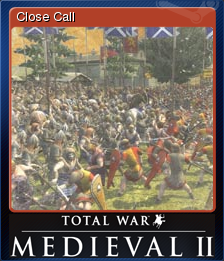 Medieval II Total War Card 3