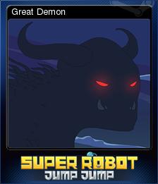 Super Robot Jump Jump Card 6