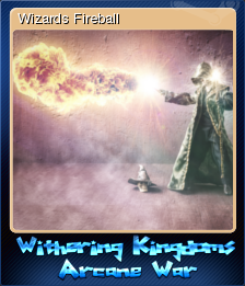 Withering Kingdom Arcane War Card 3