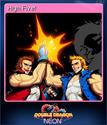 Double Dragon Neon Card 04