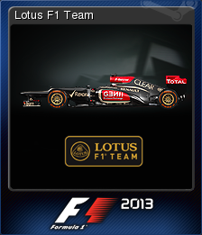 F1 2013 Card 04