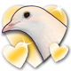 Hatoful Boyfriend Badge 5