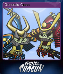 Skulls of the Shogun Card 3