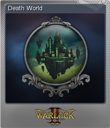 Warlock 2 the Exiled Card 03 Foil