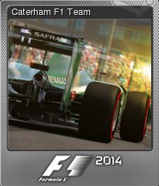 F1 2014 Foil 01