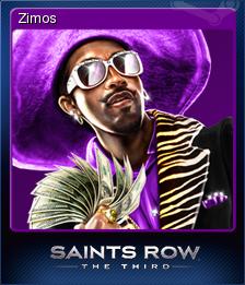 Saints Row The Third Card 7