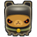 Triple Town Emoticon ninjabear
