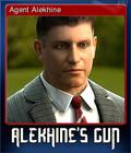 Alekhine's Gun Card 1