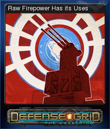 Defense Grid Raw Firepower Has its Uses