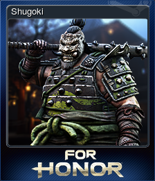 For Honor Card 07