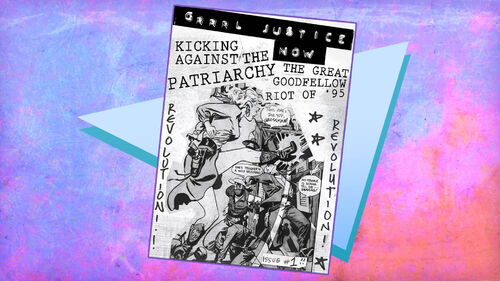 Gone Home Artwork 6 Kicking Against the Patriarchy