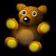 Jets'n'Guns Gold Emoticon teddy