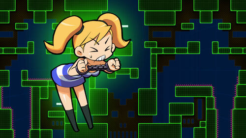Mighty Switch Force! Academy Artwork 3