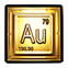 Puddle Emoticon Gold Element