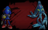 Sonic Forces Background Metal Sonic & Chaos