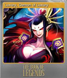 The Book of Legends Foil 3