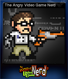 Angry Video Game Nerd Adventures Card 1