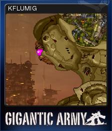 Gigantic Army Card 3